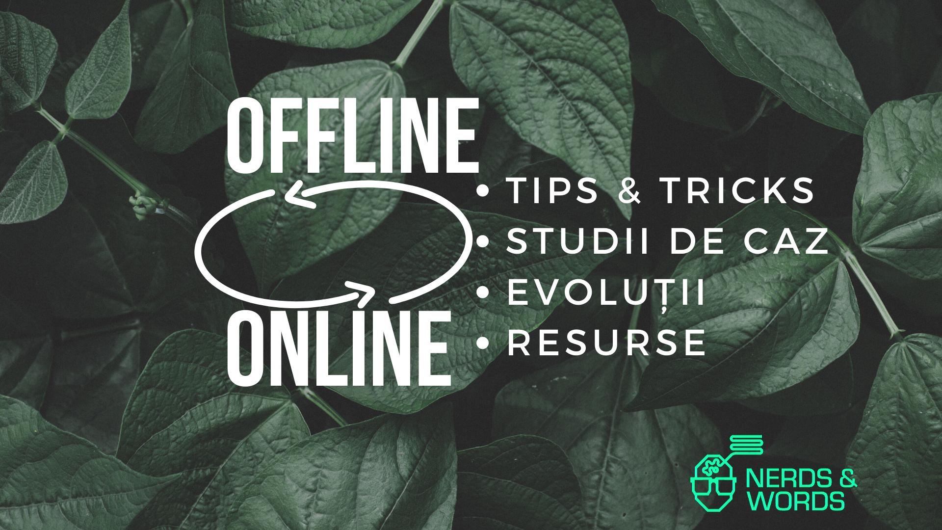 Trecerea la online: ce pot face businessurile offline zilele astea