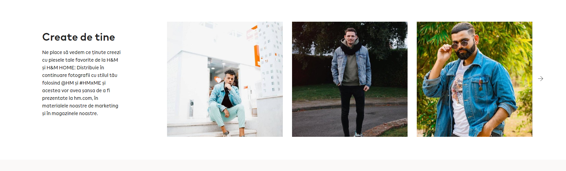 H&M user-generated content example