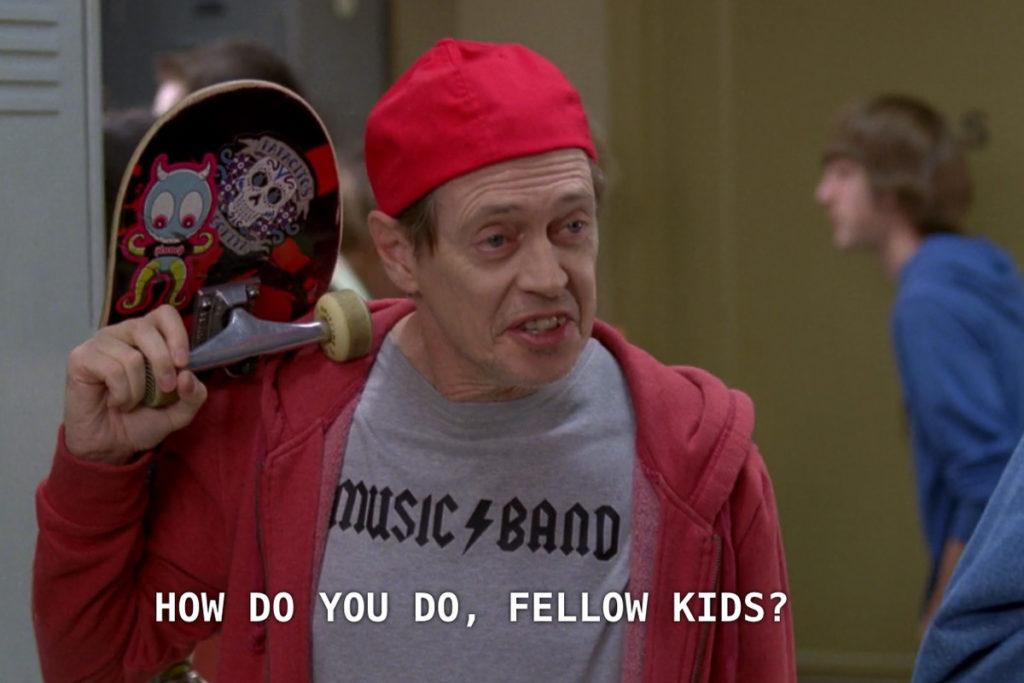 How do you do fellow kids meme