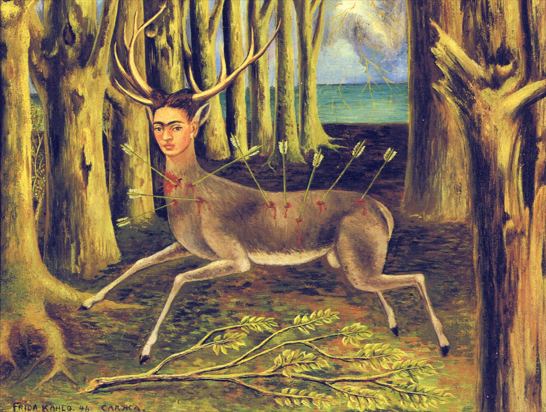 Frida Kahlo - Wounded Deer