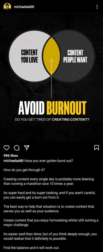 Avoid creative burnout in marketing